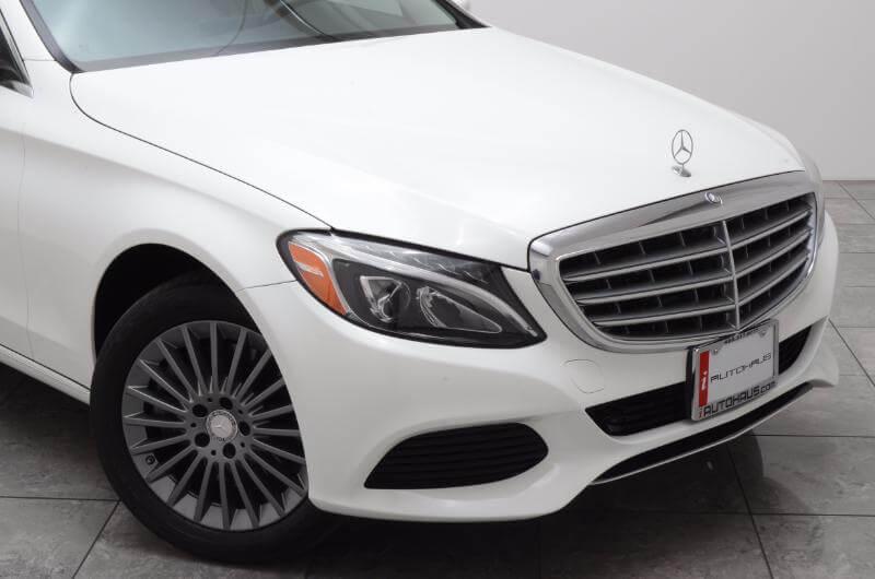 2015 Mercedes C300l Exterior Front Passengers Side