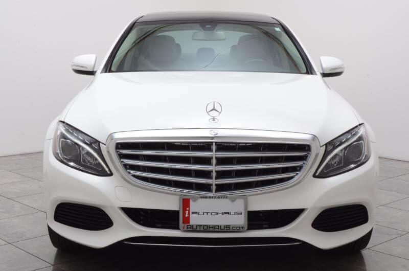 2015 Mercedes C300l Exterior Head On