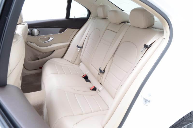 2015 Mercedes C300l Interior Drivers Side Backseat