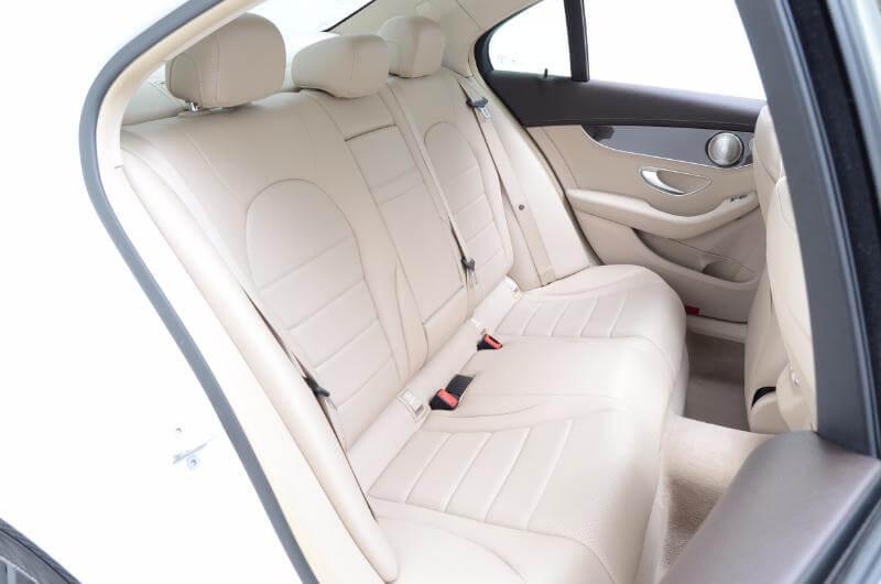 2015 Mercedes C300l Interior Passengers Side Backseat