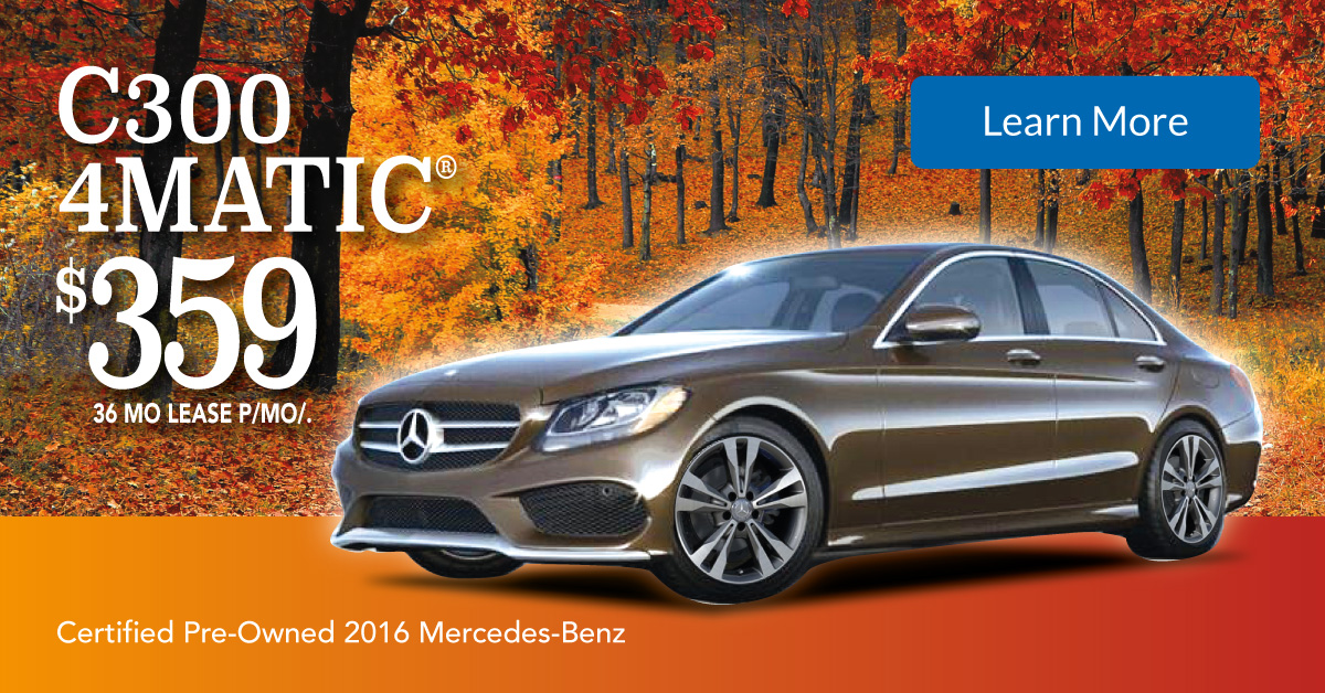 Intercar mercedes pre owned autos post for Mercedes benz cpo special offers