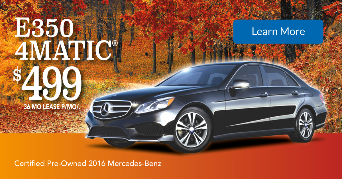 Mercedes benz certified pre owned october specials Mercedes benz certified pre owned lease