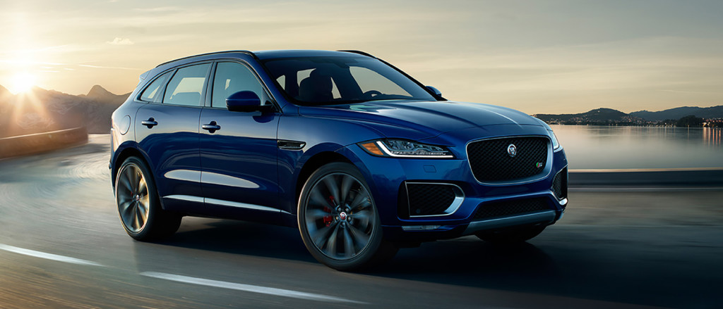 2017 Jaguar F-Pace Driving