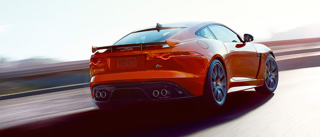 2017 Jaguar F-Type Rear
