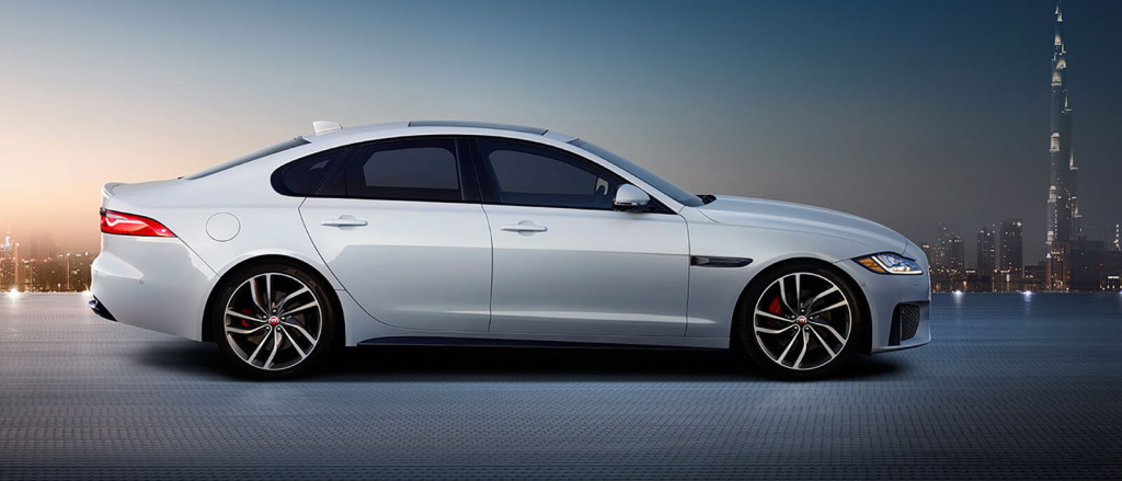 2017 Jaguar XF Side