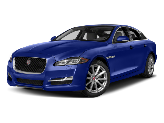 2017 Jaguar XJ blue