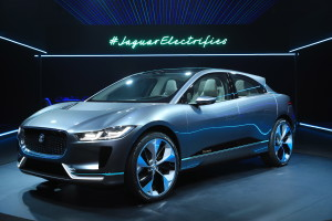 Jaguar tears up the rule book creating the I-PACE concept with supercar looks, sports car performance and SUV space, all in one electric package