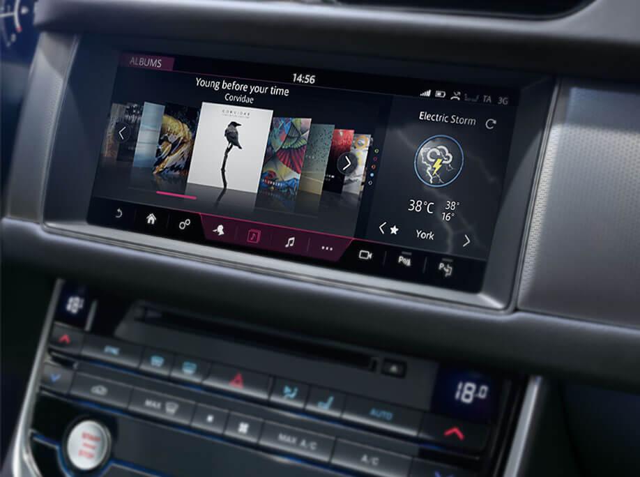2017 Jaguar XF InControl Touch