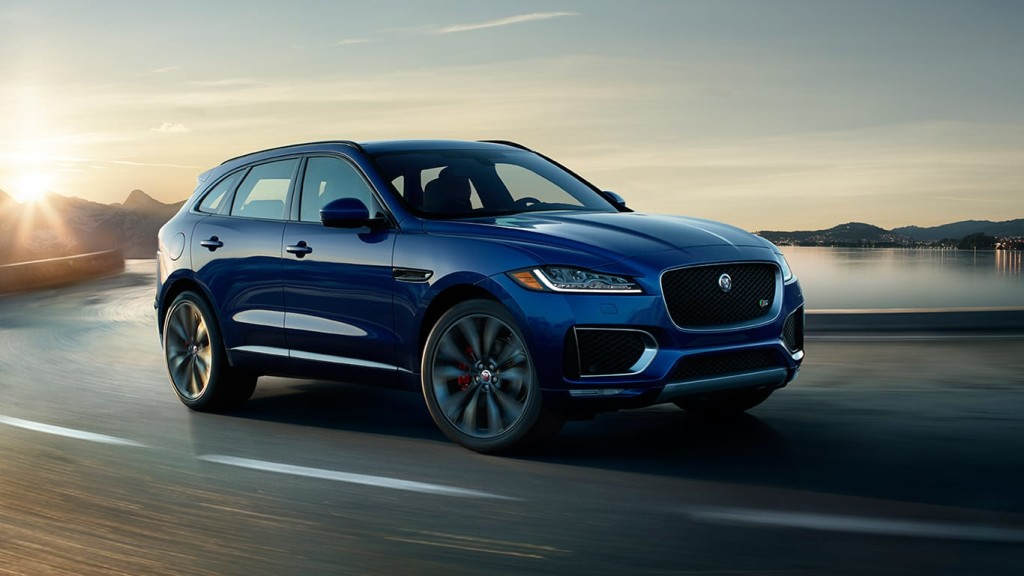 2017 Jaguar F-Pace Blue