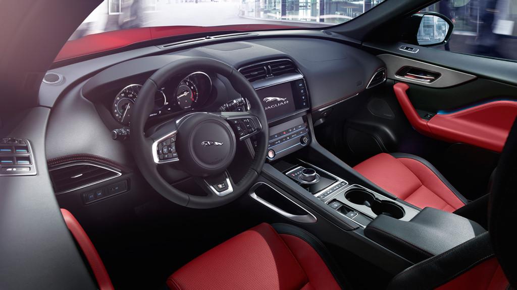 2017 Jaguar F-Pace Front Interior