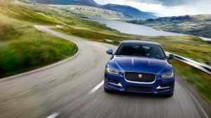 2017 Jaguar XE Front Blue (Custom)