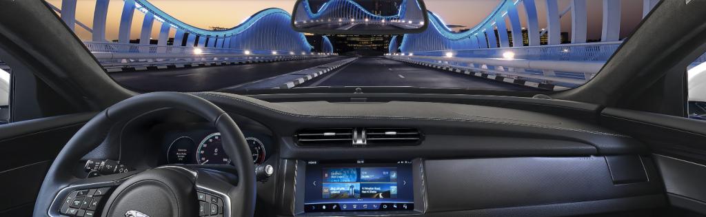 2017 Jaguar XF Front Interior