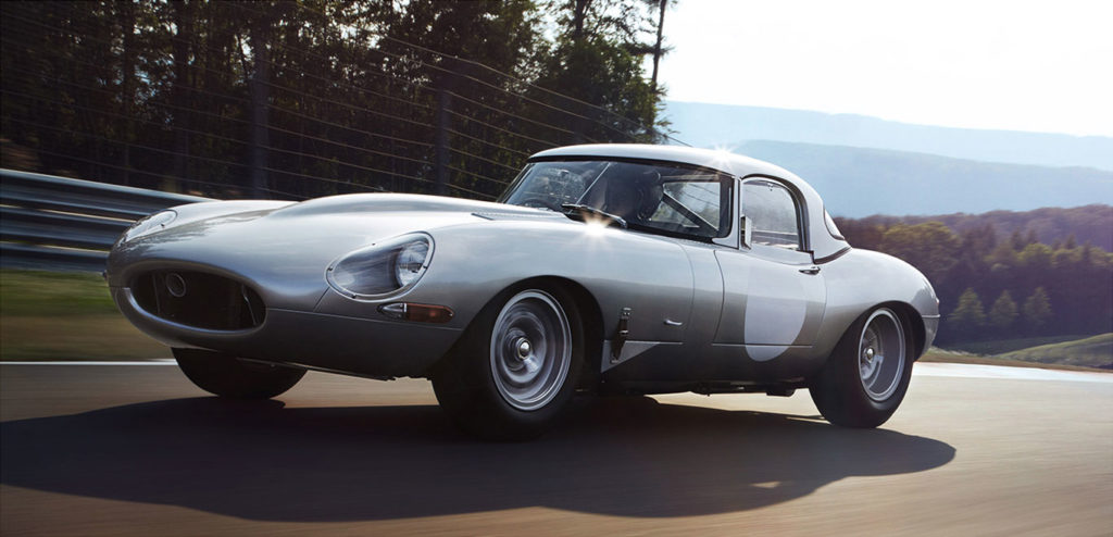 Jaguar Light weight E-type