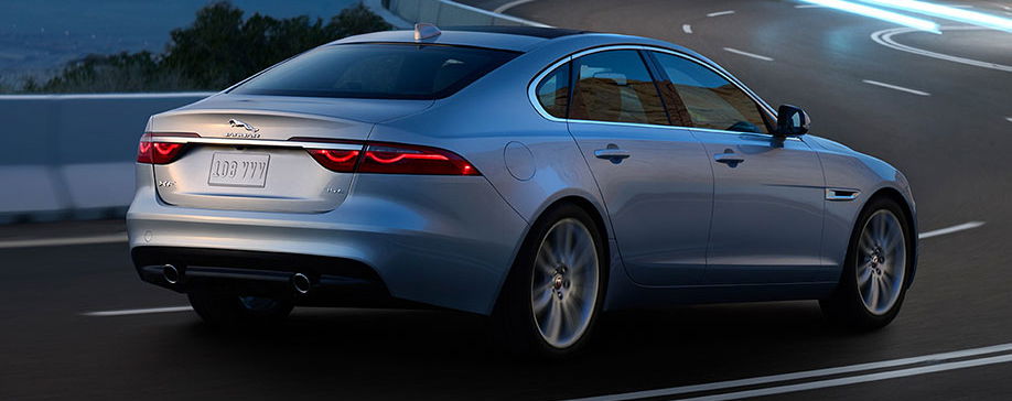 2017 Jaguar XF Rear