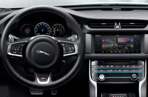 2017 Jaguar XF Dash
