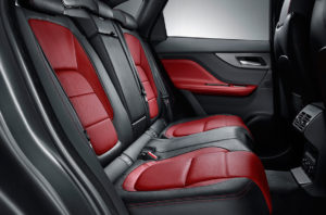 2017 Jaguar F-Pace Seats