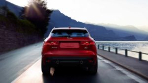 2017 Jaguar F-Pace Rear