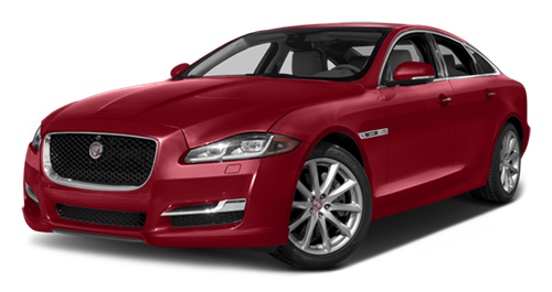 2016 Jaguar XJ Supercharged red