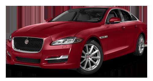 2016 Jaguar XJ Supercharged red