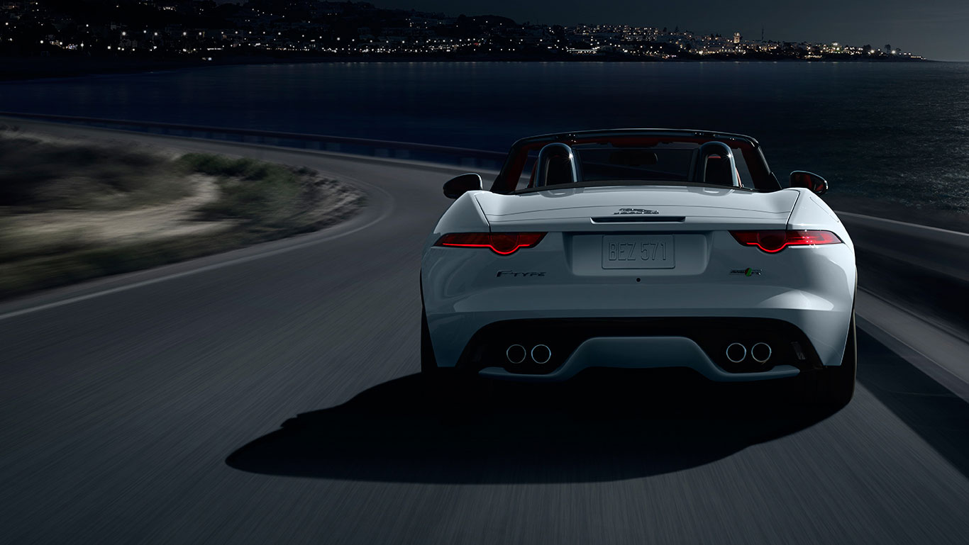 2017 Jaguar F-Type Convertible rear
