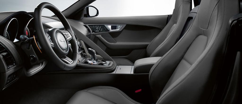2017 Jaguar F-Type Convertible Interior