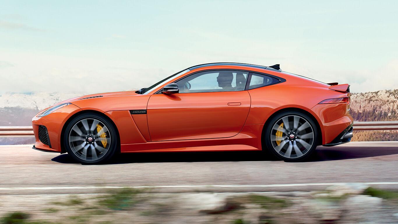 2017 Jaguar F-Type side view