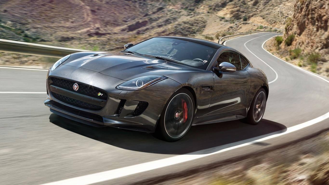 2017 Jaguar F-Type driving