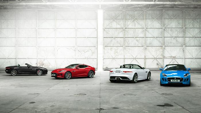 2017 Jaguar F-Type trims group