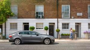2017 Jaguar XE parked