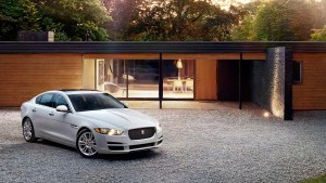 2017 Jaguar XE white