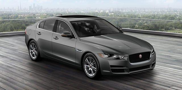 2017 Jaguar XE Premium parked