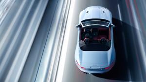 2017 Jaguar F-Type overhead