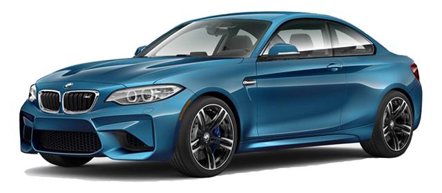 2017 BMW M2 Blue