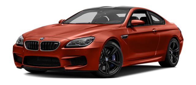 2017 BMW M6 Red