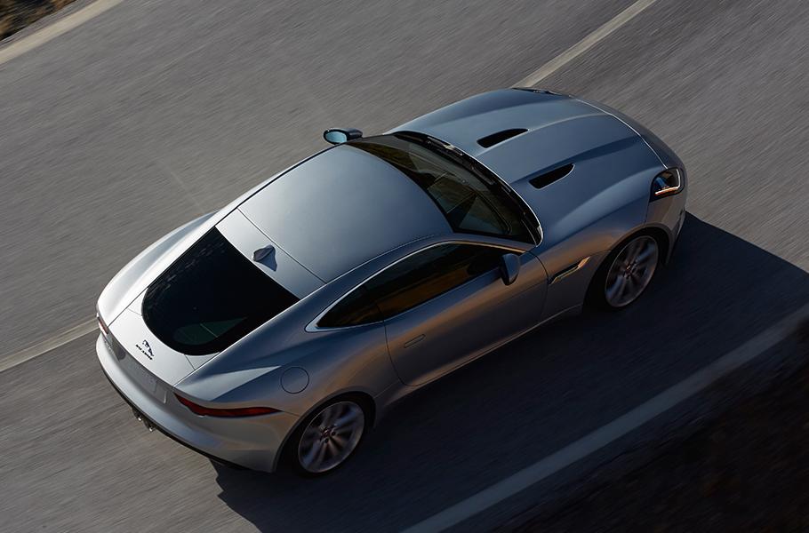 2017 Jaguar F-Type Coupe Overhead