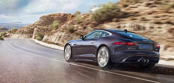 2017 Jaguar F-Type Coupe Driving