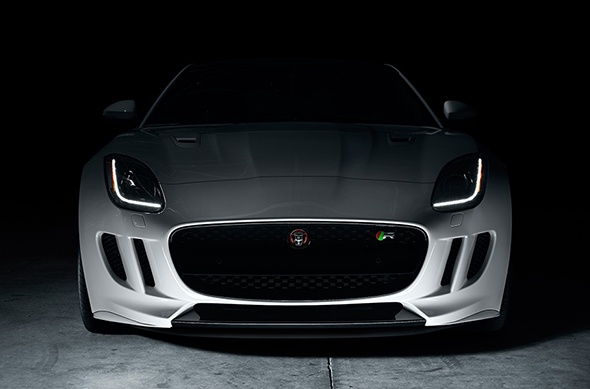 2017 Jaguar F-Type Coupe Grill