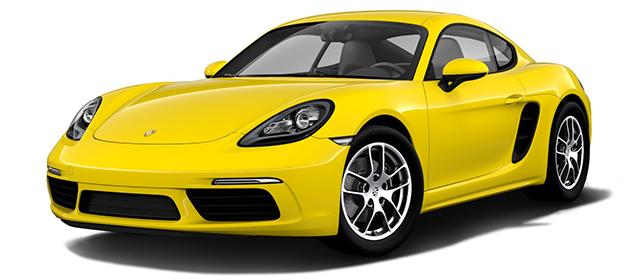 2017 Porsche 718 Cayman Yellow