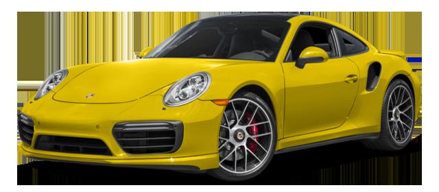2017 Porsche 911 Turbo S Yellow