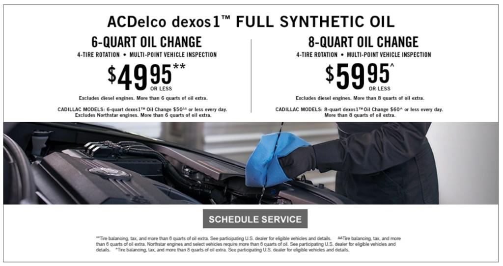 Oil Change Deals