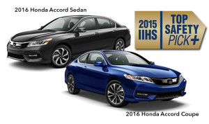2016 Honda Accord and Coupe