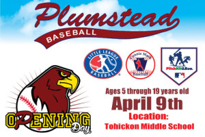 Plumstead Baseball Opening Day Featuring Pitch Hit & Run