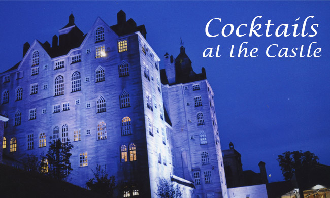Cocktails at the castle benefits the mercer museum for Castle honda service