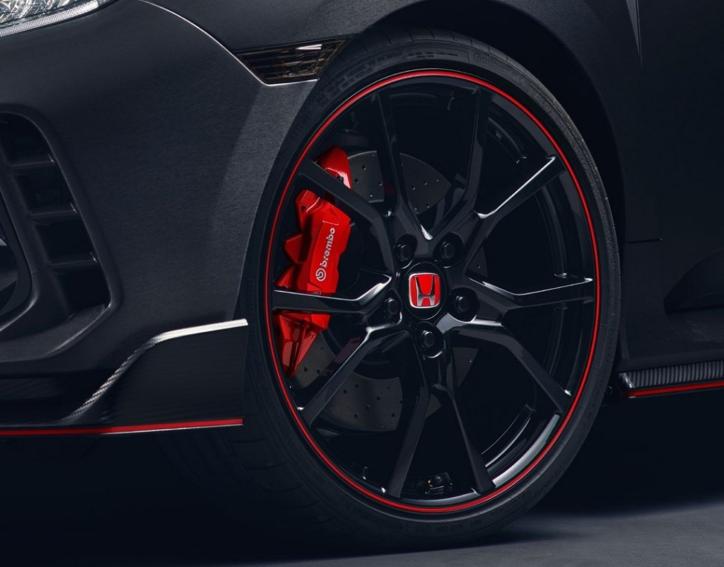2017 Honda Civic Type R Wheel