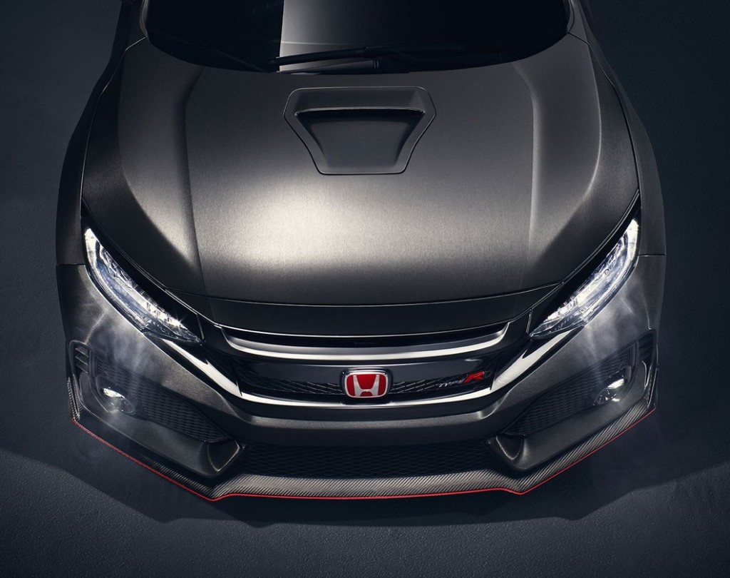 2017 Honda Civic Type R Hood