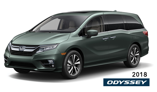 2018 Honda Odyssey - What's New?