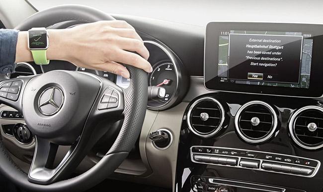 Mercedes-Benz Apple Watch
