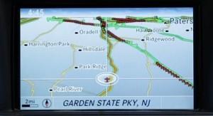 Mercedes-Benz COMAND® Navigation System – Map Features