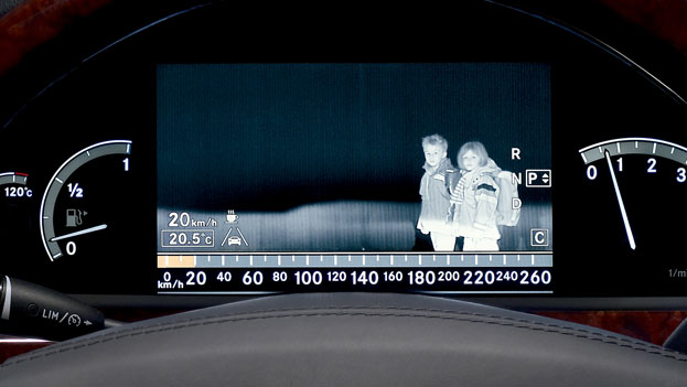 What is Mercedes-Benz Night View Assist®?