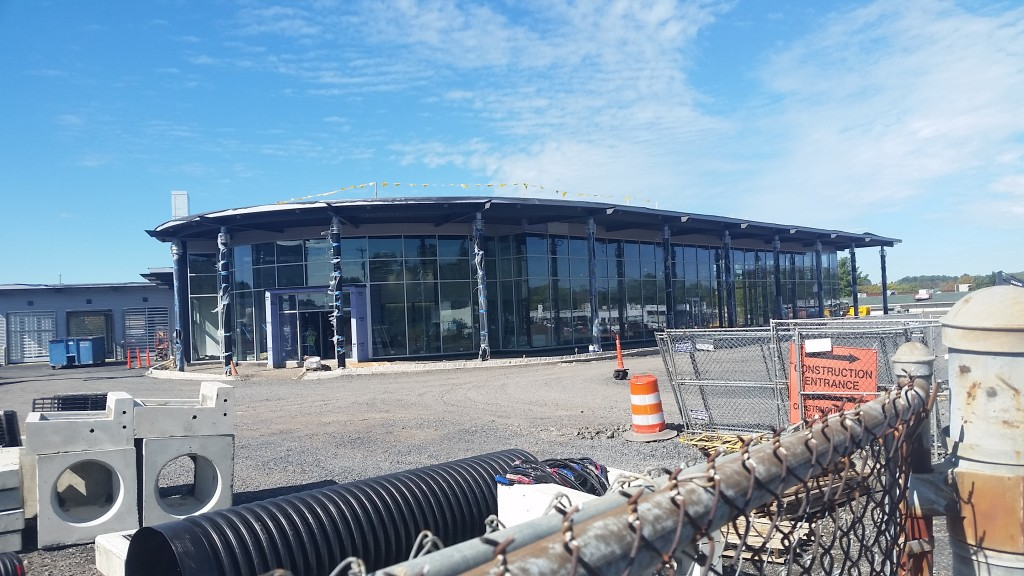 New Keenan Motors Mercedes-Benz Dealership Construction in Doylestown PA